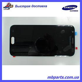 Дисплей с сенсором Samsung J330 Galaxy J3 Black, оригинал, GH96-10969A