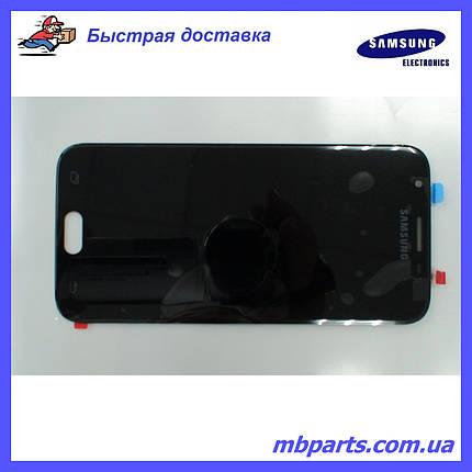 Дисплей з сенсором Samsung J330 Galaxy J3 Black, оригінал, GH96-10969A, фото 2