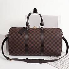 Дорожная сумка Луи Витон, Monogram Graphite 50 см, кожаная реплика
