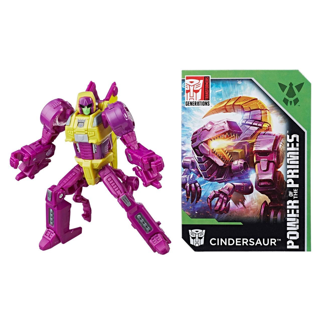 Робот-трансформер Синдерзавр Сила Праймов - Cindersaur, Power of the Primes, Legends Class, Hasbro