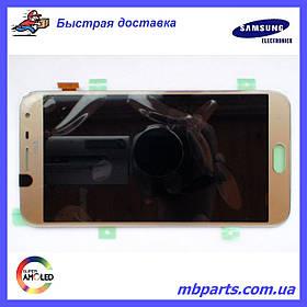 Дисплей с сенсором Samsung J400 Galaxy J4 2018 золотистый/gold, GH97-21915B