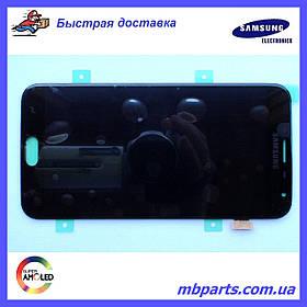 Дисплей с сенсором Samsung J400 Galaxy J4 2018 чёрный/black, GH97-21915A