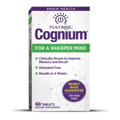 Работа мозга Natrol Cognium 100 mg 60 tabs