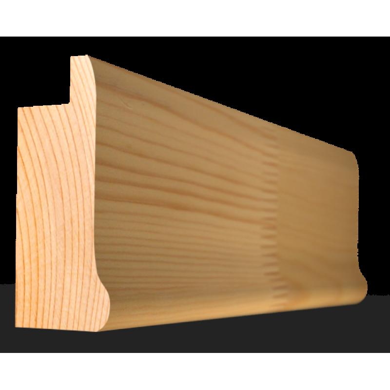 Багет дерев'яний  слов'янський 30 мм