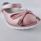 Праздничные розовые туфли на каблучке девочкам, р. 29, 31 , Нарядные и удобные, фото 5