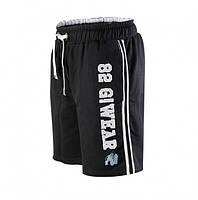 Тренировочные шорты Gorilla wear 82 sweat shorts (Black/Grey)