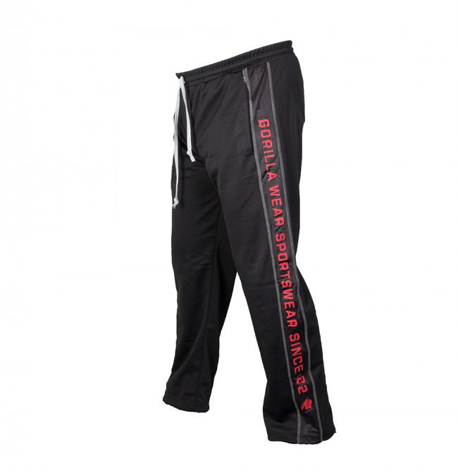 Функциональные штаны Gorilla wear Functional mesh pants (Black/Red)