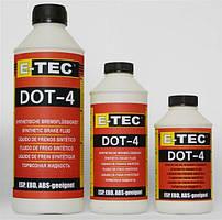Тормозная жидкость E-TEC DOT-4 (1л)