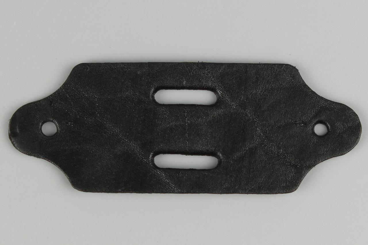 Подпряжник кожаный 40 мм с отверстием под 2 шпенька для брючного ремня