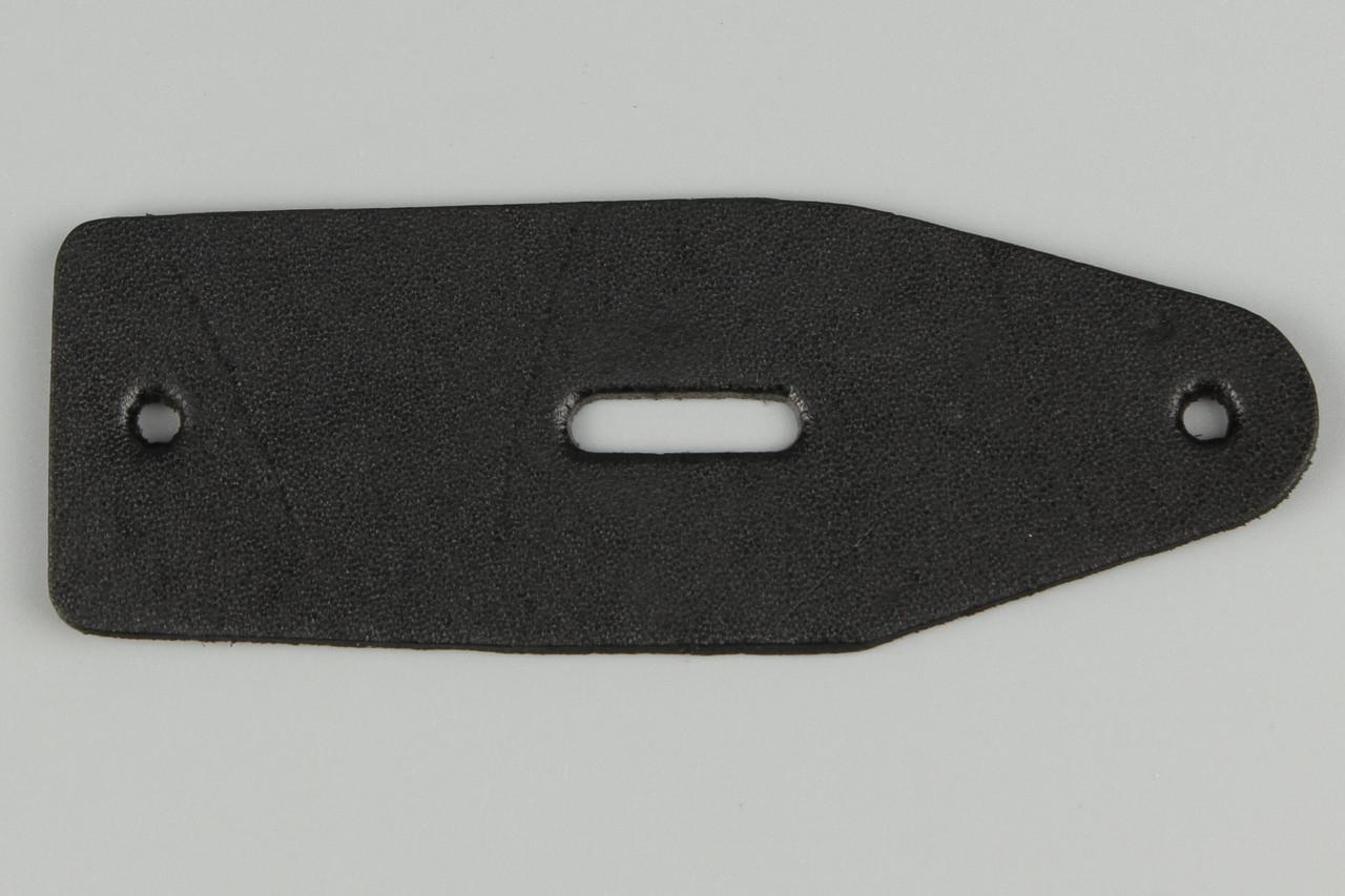 Подпряжник кожаный 40 мм с отверстием под шпенек для брючного ремня