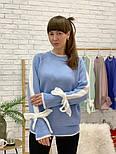 Женский свитер с завязками на рукавах (в расцветках), фото 2