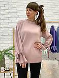 Женский свитер с завязками на рукавах (в расцветках), фото 3