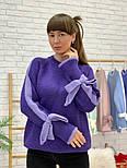 Женский свитер с завязками на рукавах (в расцветках), фото 6