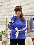 Женский свитер с завязками на рукавах (в расцветках), фото 7