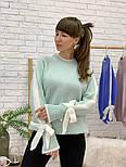 Женский свитер с завязками на рукавах (в расцветках), фото 10