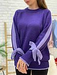 Женский свитер с завязками на рукавах (в расцветках), фото 8