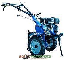 Бензиновый мотоблок ДТЗ 570Б (7 л.с, Колеса 4x10, Фреза 113 см, 3-х скоростной)