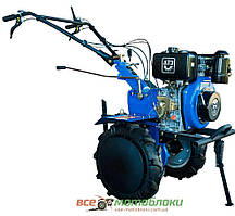 Дизельный мотоблок ДТЗ 585Д (8,5 л.с, Колеса 4x10, Фреза 113 см, 3-х скоростной)