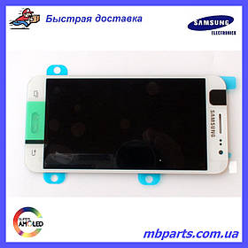 Дисплей с сенсором Samsung J500 Galaxy J5 White оригинал, GH97-17667A
