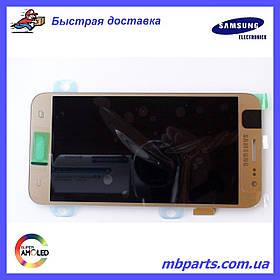 Дисплей с сенсором Samsung J500 Galaxy J5 Gold оригинал, GH97-17667C