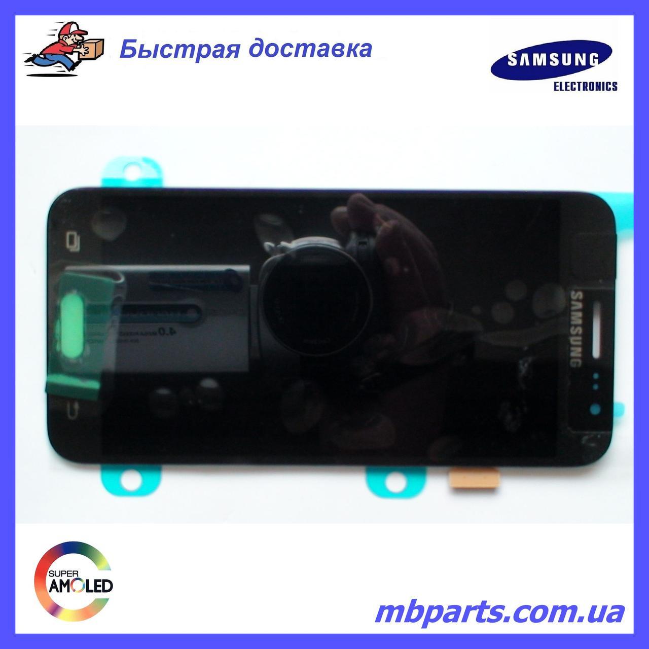 Дисплей с сенсором Samsung J500 Galaxy J5 Black оригинал, GH97-17667B