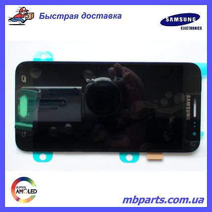 Дисплей с сенсором Samsung J500 Galaxy J5 Black оригинал, GH97-17667B, фото 2
