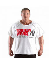 Футболка Gorilla wear Classic Work Out Top (White)