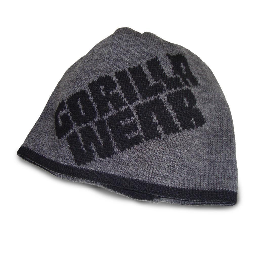 Шапка Gorilla wear Reversible Beanie (Black/Gray)