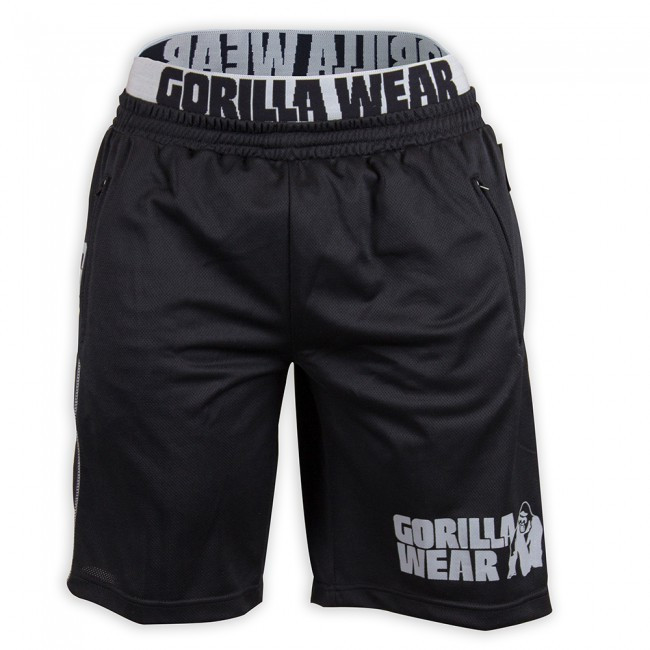 Шорты Gorilla wear California Mesh Shorts (Black/Grey)