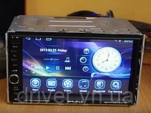 Автомагнітола 2Din Android 6.0, зелена підсвітка. RAM16gb