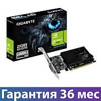 Видеокарта GeForce GT730, Gigabyte, 2 Гб DDR5, 64-bit (GV-N730D5-2GL), низкопрофильная, відеокарта