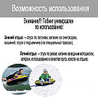 Двомісні надувні сани - тюбінг для катання Bestway 39010, 185 х 94 см, чорний, фото 8