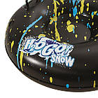 Двомісні надувні сани - тюбінг для катання Bestway 39010, 185 х 94 см, чорний, фото 5