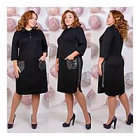 Платье нарядное черное 41585