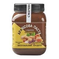 """Арахисовая паста с кэробом """"Manteca"""", без сахара, 450 г"""