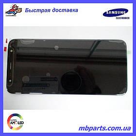Дисплей с сенсором Samsung J610 Galaxy J6 Plus 2018 чёрный/black, GH97-22582A
