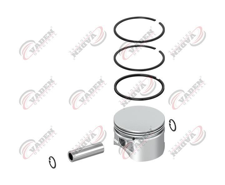 Поршень компрессора с кольцами (стандарт 85мм)