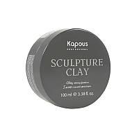 Глина для укладки волос сильной фиксации «Sculpture Clay», 100 мл