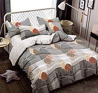 Комплект постельного белья двуспальный Евро Autumn Forest Сатин Фабричная Турция