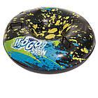 Одномісні надувні сани - тюбінг для катання Bestway 39004, 99 см, синій, фото 6