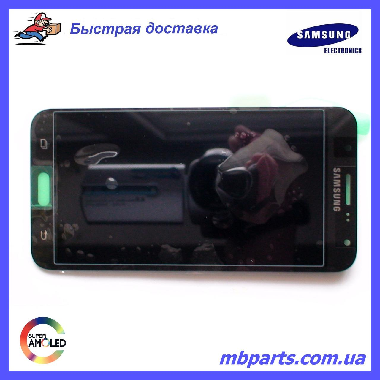 Дисплей с сенсором Samsung J700 Galaxy J7 Black оригинал, GH97-17670C