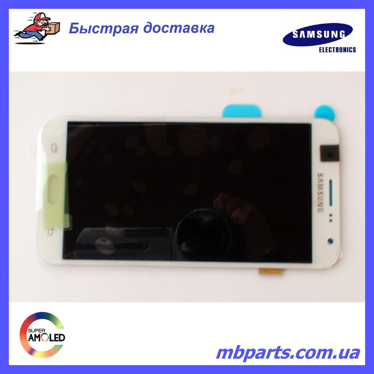 Дисплей с сенсором Samsung J700 Galaxy J7 White оригинал, GH97-17670A