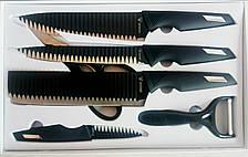 Подарочный набор ножей SWISS TOP KITCHEN c керамическим покрытием 6 предметов, фото 3