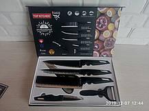 Подарочный набор ножей SWISS TOP KITCHEN c керамическим покрытием 6 предметов, фото 2