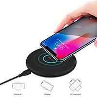 Беспроводное зарядное устройство N5 Fast Charge Black, зарядка QI