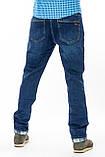 Мужские джинсы утепленные Franco Benussi 20-125 TORINO синие, фото 5