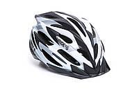 Шолом велосипедний OnRide Grip M white-black-grey