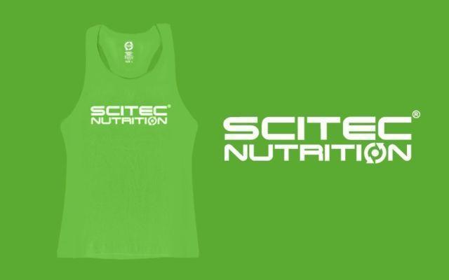 Майка Scitec Nutrition  Racerback Green