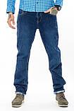 Мужские джинсы утепленные Franco Benussi 20-125 TORINO синие, фото 2
