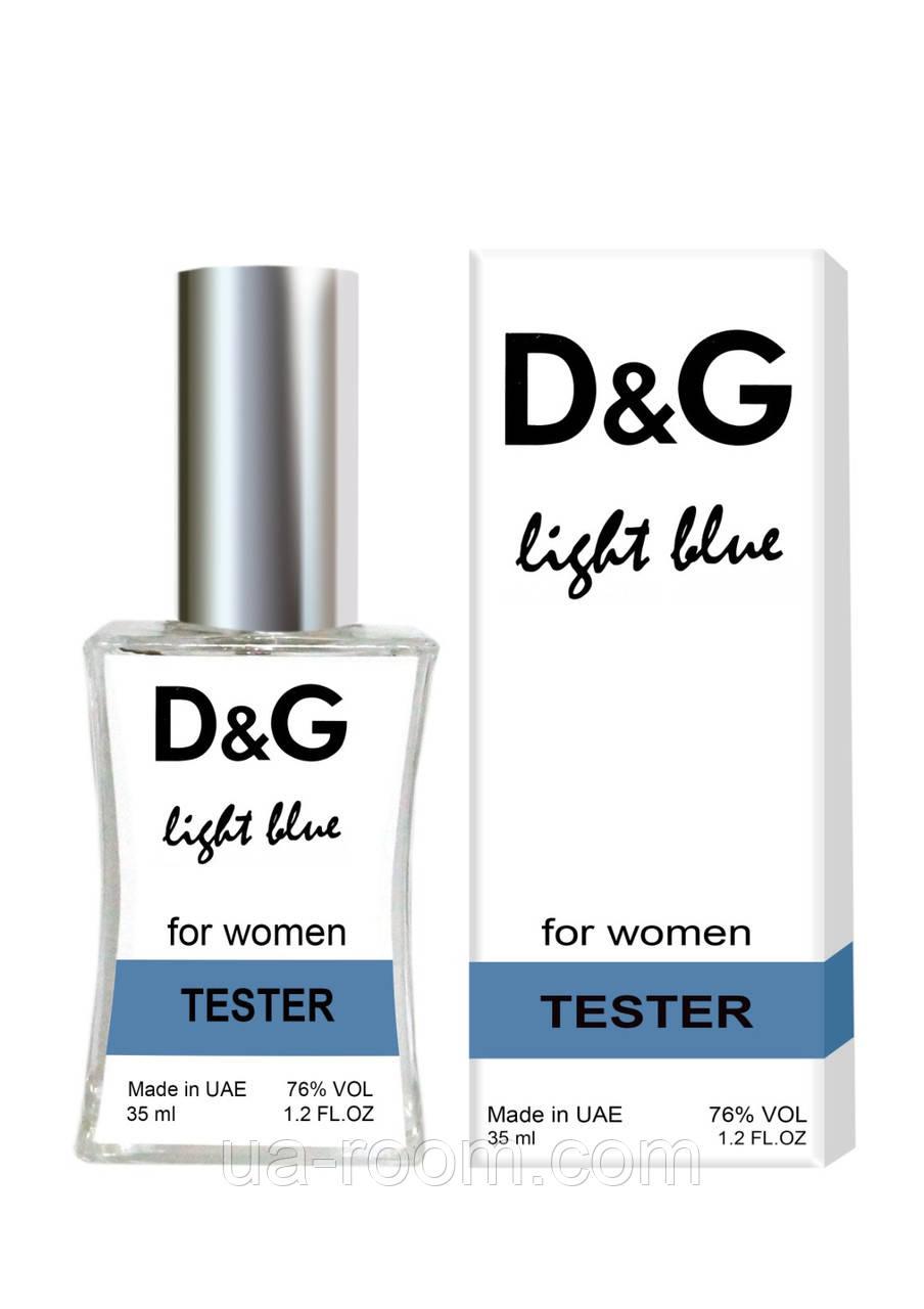 Тестер женский Dolce&Gabbana Light Blue, 35 мл.